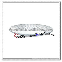 Placa de vidro redonda D209