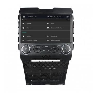 Ford EDGE Android 7.1.1 & 10.1 Zoll Auto DVD-Player