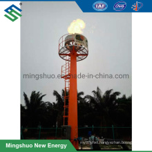 Biogas Burning Flare Torch for Wastewater Treatment Plant