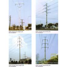 220kv Transmission Line Steel Pole