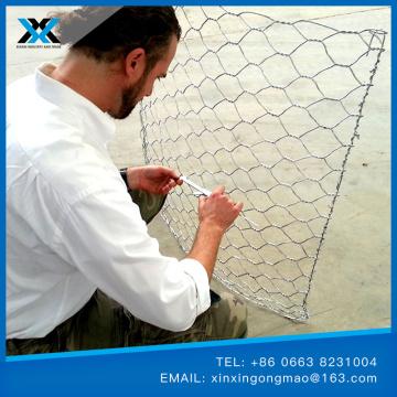 Galfan Gabion Baskets Wire Mesh