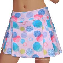 printed golf tennis skirt