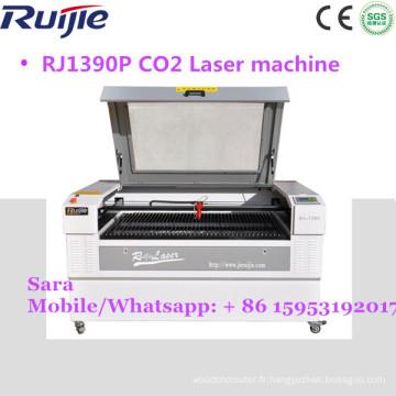 Machine de gravure laser Ruijie 1390/ Machine de découpe laser pour le bois