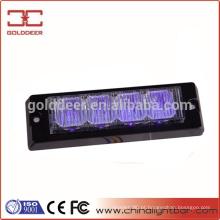 Luzes de advertência de segurança LED colorido magenta (GXT-4)