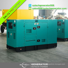 Tipo abierto o tipo silencioso Precio del generador Weichai 60kw