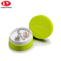 Round Green Bracelet Gift Box with Lid