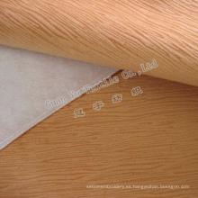 Tapiceria Super suave terciopelo quema tela del sofá
