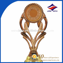 Custom design plastic decoration trophy award gift