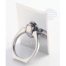 Stainless steel metal phone ring buckle
