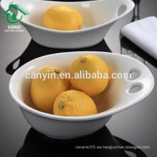 2015 Nuevos artículos calientes para el tazón de fuente de fruta de la sopa de cerámica