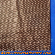 Tapis de voile côtelé à la voile de carbone pour pultrusion