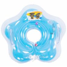 Anillo inflable del cuello del bebé de la forma de la estrella del PVC
