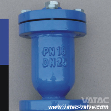 Single Ball Cast Iron Gg25 Flanged Floating Ball Air Relief Valve