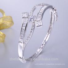 arabie saoudite bijoux blanc or oem bracelet pour la fête