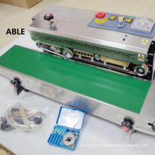 Sealer machinery Nitrogen filling sealing machine  plastic /rice bag sealing machine