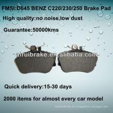 D645 QUALIDADE OE baixa freio de disco de carro de metal para BENZ C220 / C230 / C250 / C280