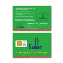 2.5G Test SIM Card with 1 to 5MHz Working Frequency, Used in Smart Card