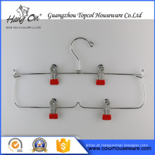 Wire Hangers For Dry Cleaners , Metal Hanger For Trousers