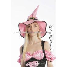 Chapéu pirata rosa