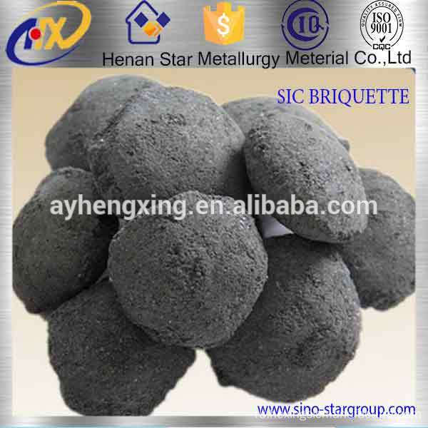 Anyang+silicon+carbide+briquette+used+as+deoxidizer+in+steelmaking
