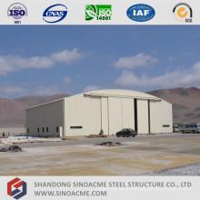 Hangar de avión de estructura de acero de construcción de acero de alta calidad