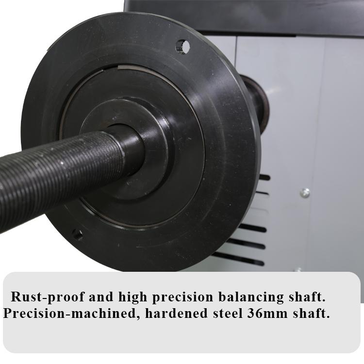 wheel balancer thread shaft