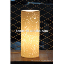 Lámpara de mesa decorativa Luz de cerámica