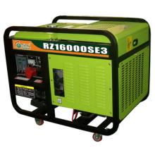 15KVA Alambre de cobre Generador diesel de 4 tiempos con doble cilindro refrigerado por agua
