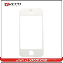 Hot Selling Spare Parts for iphone 4s front screen glass lens White