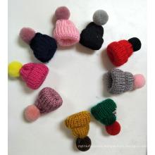 Decoration cute hat breastpin