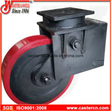 16 Inch Heavy Duty Shock Absorbing Casters with Polyurethane Wheel
