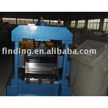 Steel floor forming machine