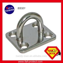 Plaques d'oeil de protection industrielle SS321 en acier inoxydable