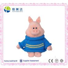 Pullover Rosa Schwein Plüschtier Stuffed Tier