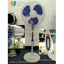 Mesh Grill Stand Fan with Round Base (USSF-831)