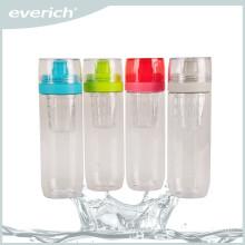 Hot sale low price water plastic infuser bottle