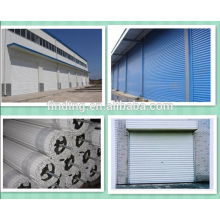металл ролл затвора гараж дверь/рулон затвора дверь/металлические двери гаража формовочная машина