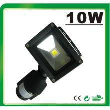 LED10W PIR LED Floodlight Luz de inundación LED