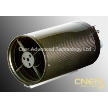 Tubo de telescopio de fibra de carbono de gran diámetro