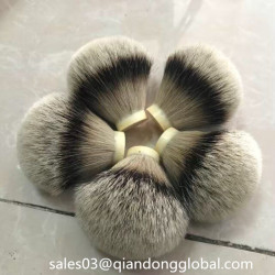 More Dense No Shedding Silvertip Badger Hair Knot