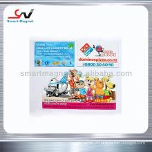 Íman de refrigerador de impressão de papel de promoção personalizado