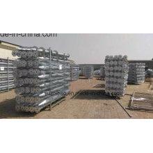 Solarenergie Heiße DIP Galvanisierte Bodenschraube