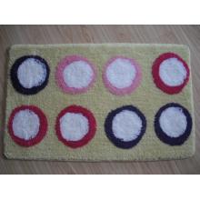 Tapis de bain à flanelle, tapis de bain chennable, tapis de bain en textile