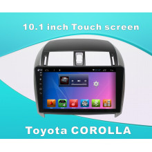 Android System Car DVD Player for Toyota Corolla 10.1 Inch Touch Screen with GPS/Bluetooth/TV