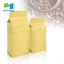 Grosir Aluminium Foil Coffee Packaging Bag dengan ritsleting