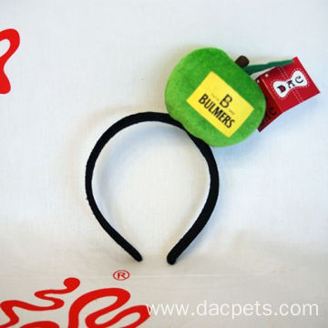 plush advertising apple hairpin