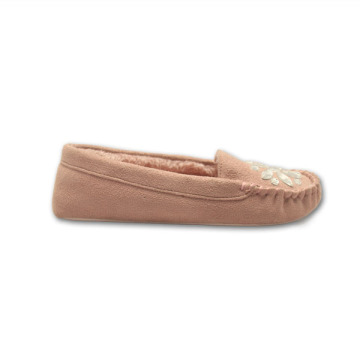 Professional China for Womens Fur Moccasins pink warm moccasin slippers for womens export to Sierra Leone Exporter