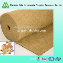 High quality needle punched nonwoven jute felt made in China