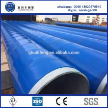 SA2.53 tube en acier recouvert de q235