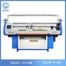 Nova máquina de camisola para tricotar cachecóis, máquina de tricô de cobertor, máquina de confecção de malhas lisa de computador